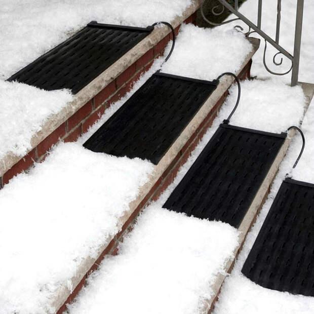 Лестничные коврики с подогревом HeatTrak HR10-30.
