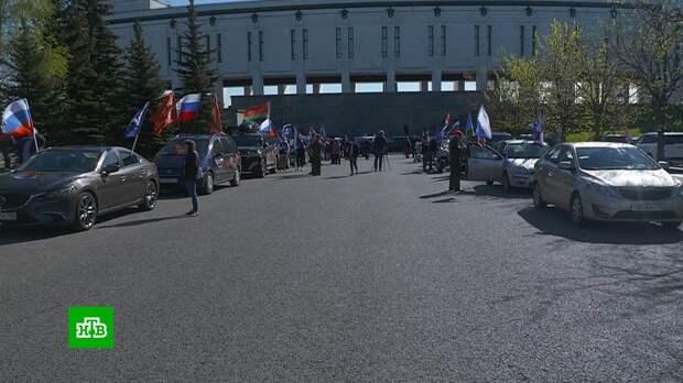 В Москве стартовал автомотопробег «Офицеры России. Дорогами Памяти»
