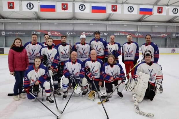 Хоккеисты из Молжаниновского вновь обыграли «Аркуду»