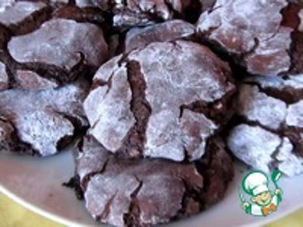 Шоколадное печенье без муки ингредиенты