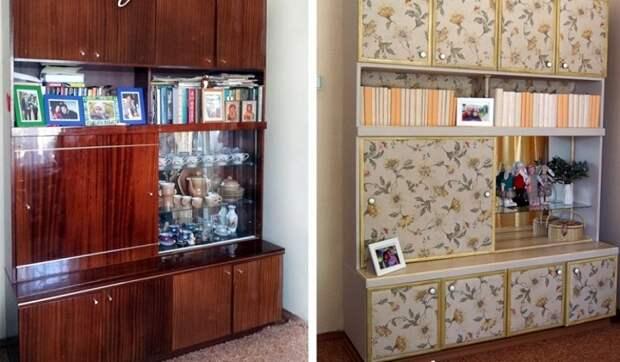 переделка старой советской мебели своими руками