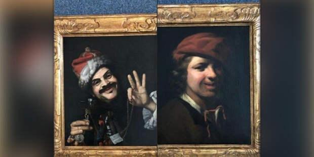 В Германии на помойке нашли шедевры живописи XVII века