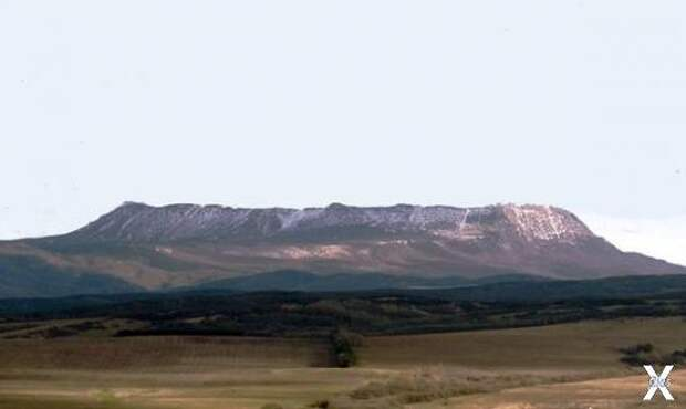 Горный массив Чатыр-Даг в Крыму