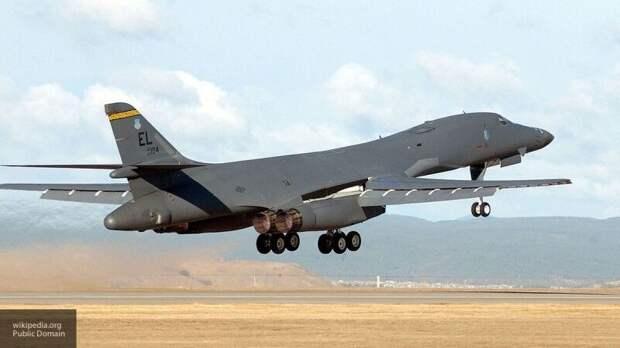 Россия перехватила бомбардировщик США над Беринговым и Охотским морями