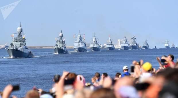 «Их ничем не остановить»: в Японии оценили парад в день ВМФ России