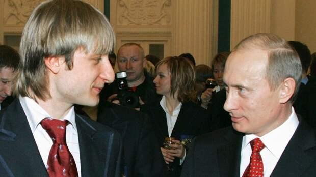 Плющенко поздравил Путина с днем рождения, пожелав новых успехов в укреплении величия России