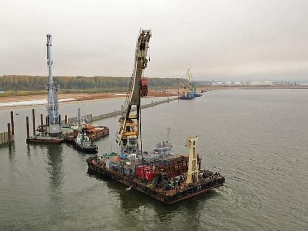 Грузооборот морских портов России заметно сократился в январе–апреле