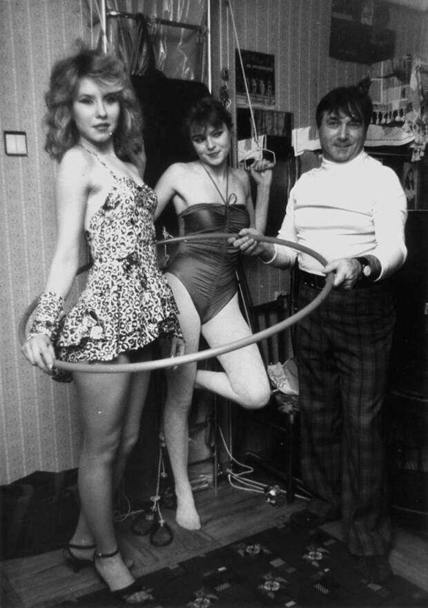 «Институт красоты» в Ленинграде в 89-90 гг