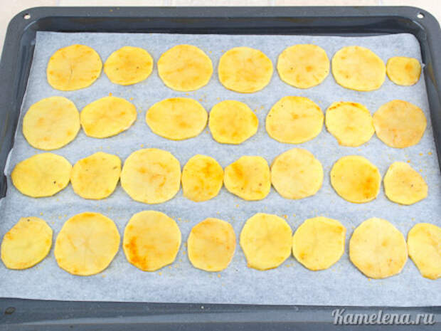 Картофельные чипсы — 3 шаг