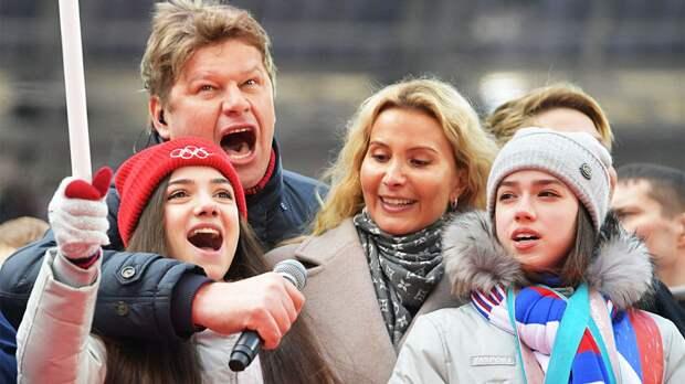 Губерниев: «За какие заслуги Медведеву и Загитову должны брать в сборную? С тем же успехом можно включить и меня»