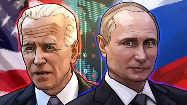 Американцы рассказали о преимуществах Путина перед Байденом