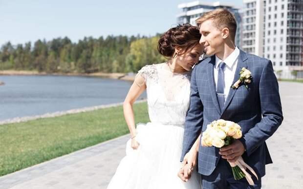 Свадебные фото топовых русских лыжников: редкие кадры