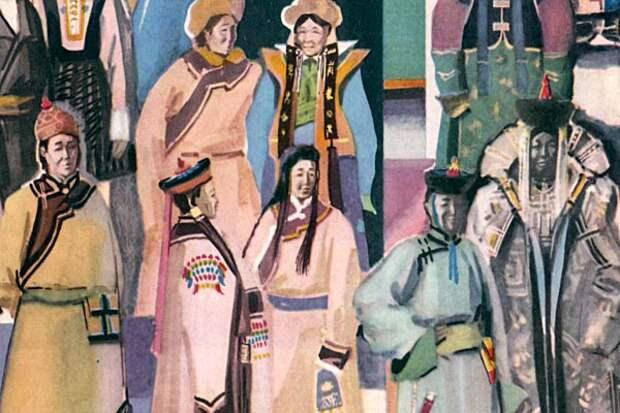 Многоцветная Монголия