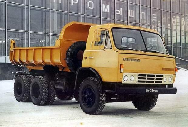 Как создавался первый советский грузовой автомобиль марки КамАЗ —  КамАЗ-5320