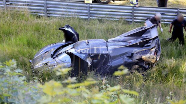 Одним меньше: уникальный гиперкар Koenigsegg «разложили» на Нюрбургринге