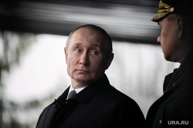 Путин напараде Победы заявил обугрозе для России
