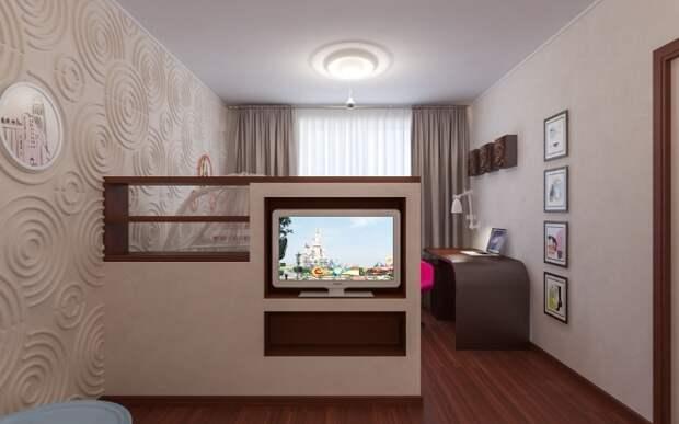 Планировка однокомнатной квартиры для семьи с двумя детьми (36 фото)