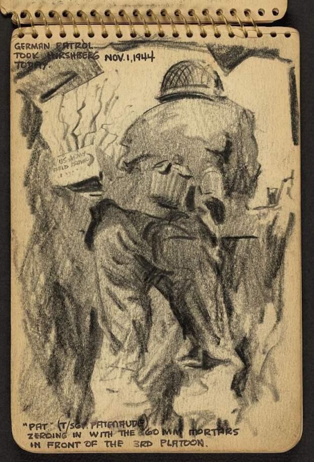 Зарисовки Второй мировой войны