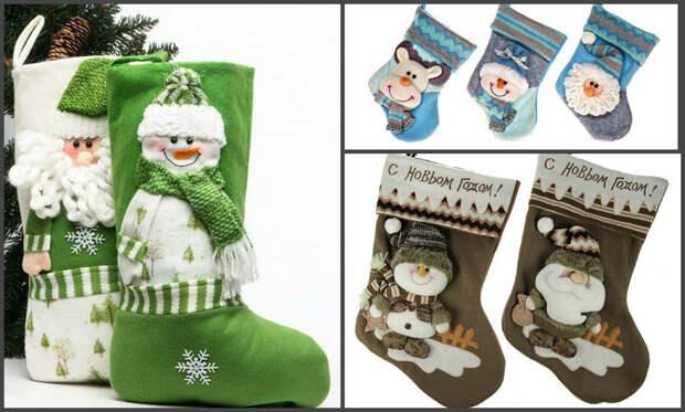 Идеи для вашего вдохновения: Елка, снеговик, носочек