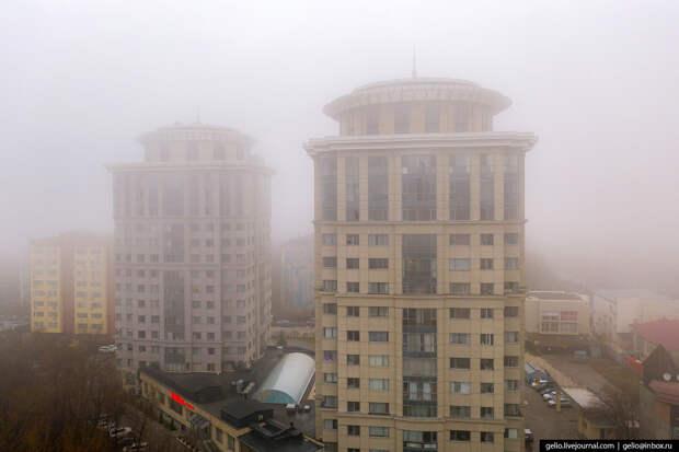 Пролетая над Бишкеком