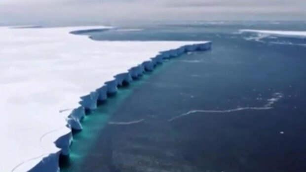 Самый большой в мире айсберг растаял