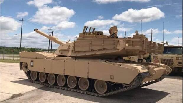 Модернизированные M1A2 SEPv3 (М1А2С) поступили в танковую бригаду Greywolf