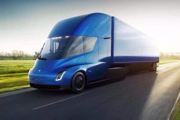 Грузовик Tesla: вечные тормоза и автопилот. Дальнобойщик Федор Иваныч может остаться без работы!