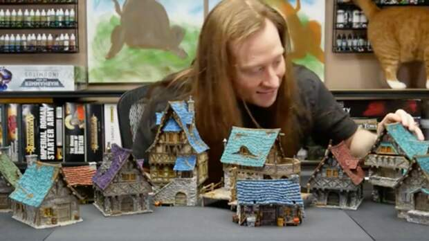 Фанат построил у себя в доме город из World of Warcraft