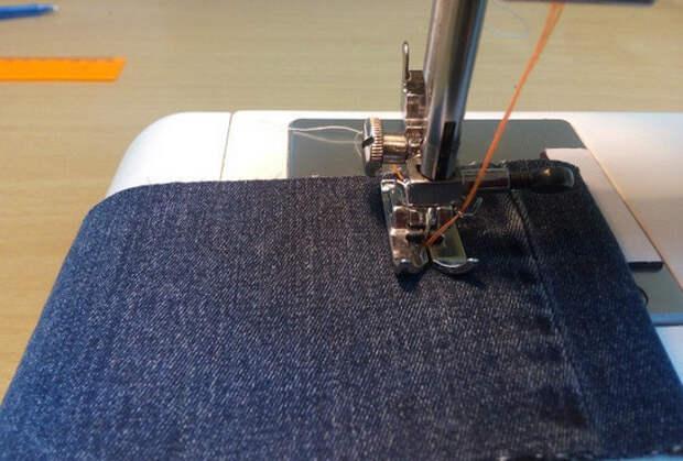 Как прострочить отделочную строчку в три нитки из одной катушки... Теперь эта хитрость доступна не только опытной швее!