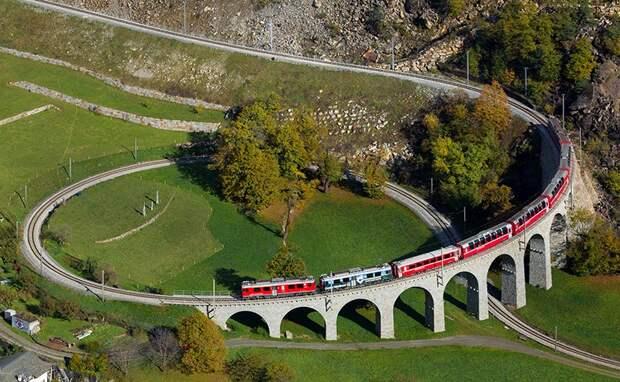 Топ‑5 самых необычных железных дорог Швейцарии