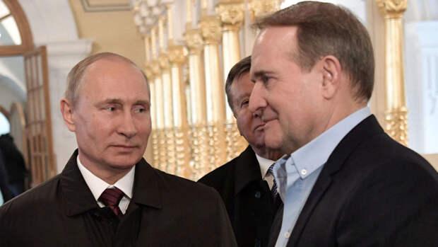 Песков рассказал об отношениях Путина и Медведчука