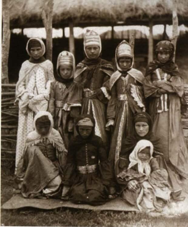 Фотография ногайцев начала XX века.