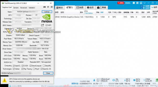 Опубликованы фотография и характеристики раннего образца GPU будущей GeForce RTX 3080 Ti