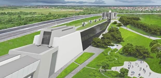 Завершается строительство метромоста через реку Ликова