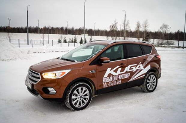 Обновленный Ford Kuga: тест на IQ