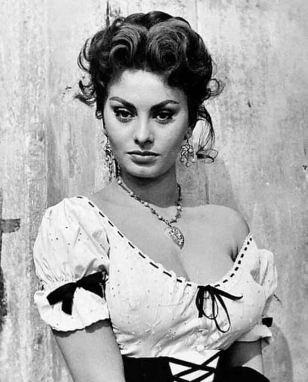 Софи Лорен, 1955 год.