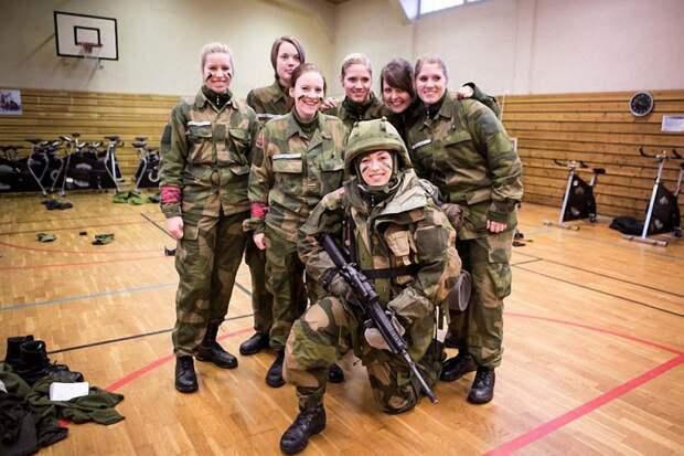 Прекрасная половина норвежской армии