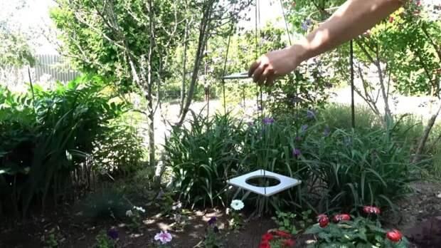 Полезное для сада или дачи из остатков ламината: красота за 1 час
