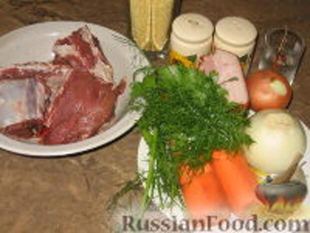 Фото приготовления рецепта: Кулеш с зайчатиной - шаг №1
