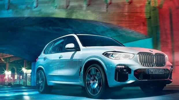 Немецкий BMW оснастит внедорожник X5 водородным двигателем