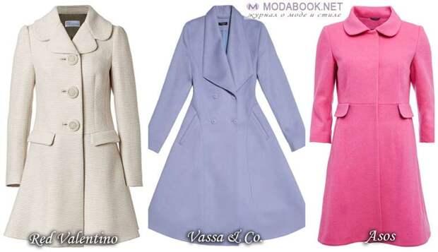Платье-пальто — ретро фасон