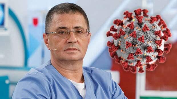 Доктор Мясников: «В России начинается новая волна коронавируса. Цифры заболеваемости растут»