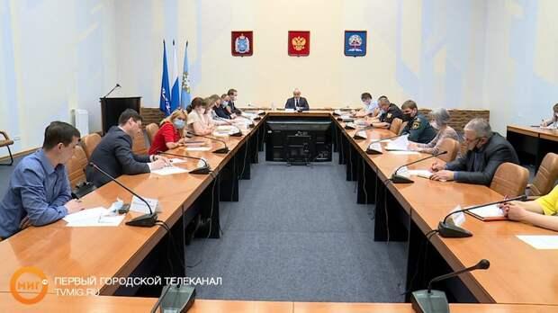 В администрации Ноябрьска прошло внеочередное заседание антитеррористической комиссии