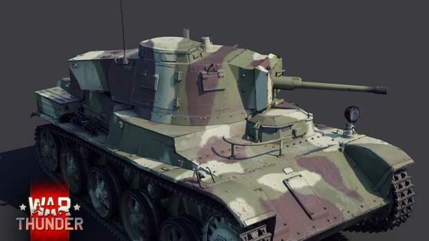 """Новый танк для """"Battle Pass"""" в War Thunder. (38.М Toldi IIA)"""