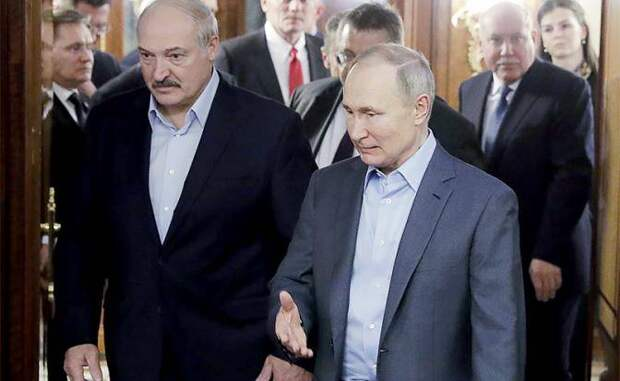 Тихановская капитулировала накануне встречи Путина с Лукашенко