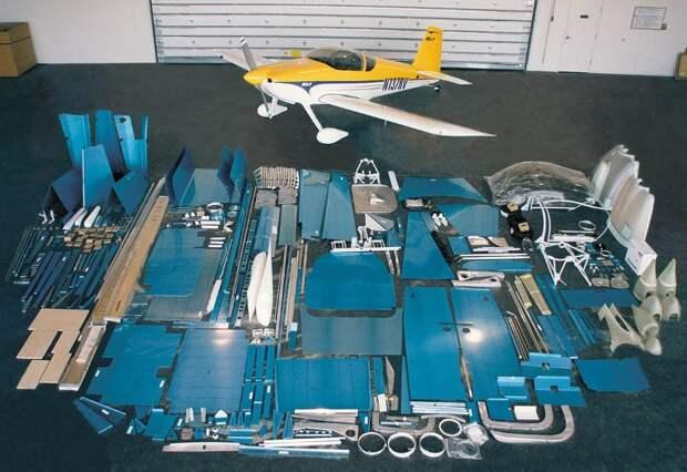 10-тысячный самолет RV-7 из кит-набора поднялся в воздух