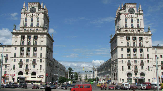 Город Минск - РИА Новости, 1920, 13.09.2020