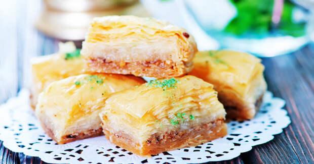 Как приготовить пахлаву – правильное тесто и сироп, оригинальные рецепты восточной сладости