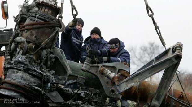 Антипов считает трагедию MH17 спланированной операцией