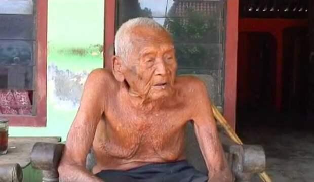 Дедушка, утверждающий, что ему 145 лет, говорит, что уже готов умереть Дедушка долгожитель, факты